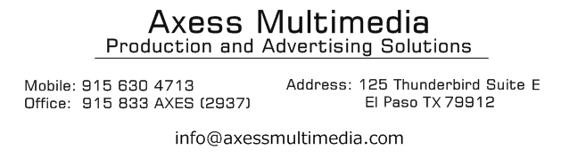 Theaxess advertising agency en el paso tx business cards to marketing brochures that make sure your company looks its best time saving services such as handling printing of brochures reheart Image collections